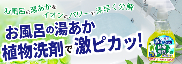 植物洗剤お風呂用